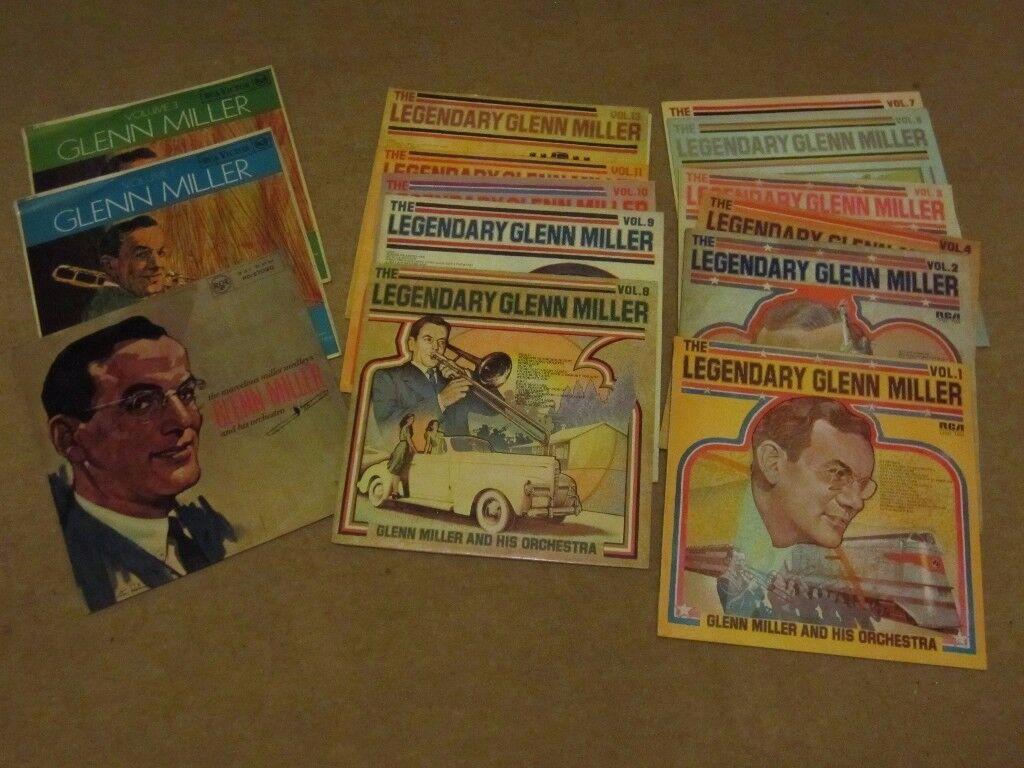 Glenn Miller Vinyl Collection - 14 LP's