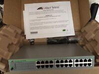 Allied Telesyn 24 port switch/hub
