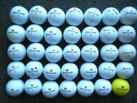35 Wilson Staff DX2/3 golf balls in excellent condition