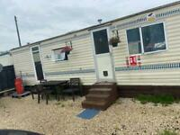 Two bed static caravan to rent