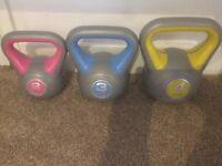 Kettle bell weights