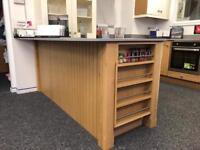 Ex display oak kitchen