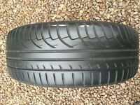 mitchaline 195 65 15 used tyre about 5mm tread