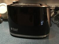 Russell Hobbs Black Toaster - GREAT CONDITION