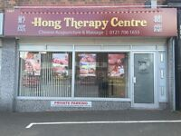 Chinese massage and deep tissue massage