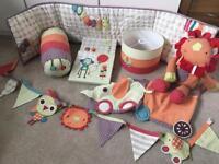Mamas & Papas Jamboree nursery decorations bundle