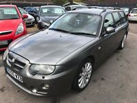 2005/05 MG ZT-T 2.0 135 CDTI ESTATE,METALLIC GREY,FULL LEATHER INTERIOR,LOOKS AND DRIVES WELL