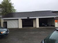 1,125 SQ FT unit garage workshop to rent/storage/office, car pitch all inclusive, main road