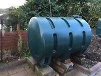 Plastic Oil Tank 1300 Litres