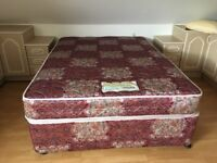 Very clean King Koil double bed