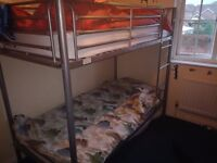 Bunk bed WITHOUT mattreses