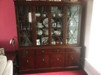Reproduction Display Unit/Sideboard and Corner Unit