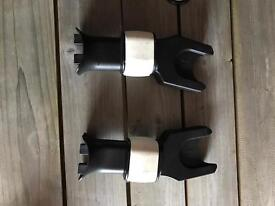 Maxi-Cosy Car seat Adapters for Bugaboo.