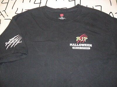Large- RIP Halloween Store T- - Halloween Ripped Shirt