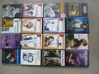 JAZZ MUSIC DVD,S AS NEW JOB LOT.QUALITY COLLECTION
