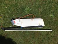 Laser rudder