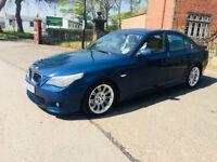 2005 MODEL BMW 525d M SPORT, FULL LEATHER, LONG MOT p/x 320d 520d 530d passat saab insignia mondeo
