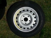 Genuine Porsche 944 Turbo Space Saver Alloy Spare Wheel 951.362.131.01