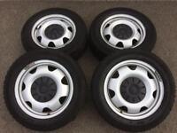 """Volkswagen transporter t5 17"""" wheels"""