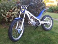 Sherco 250 2003 trials bike - road registered with V5