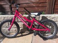 Girls Pink Ridgeback Melody Bicycle (16 inch wheels)