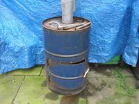 waste oil burner for garage or workshop