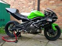 Kawasaki er6 track bike mini twin