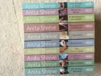 NEW- Collection of 10 Anita Shreve books. NEW in packaging