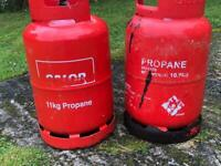 Calor gas cylinders