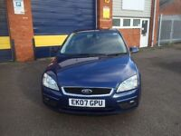 2007 Ford Focus 2.0 tdci titanium 12 months mot/3 months parts and labour warranty