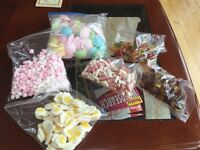 Selection of sweets ideal for party bags/Halloween treats/wedding