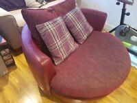 Purple Swivel Seat