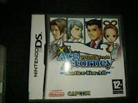 Ds game. Rare. Ace attorney
