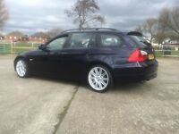 57 BMW 320D DEISEL 163BHP ESTATE TOURING 1 OWNER IMMACULATE CAR NEEDS NOTHING CHEAP