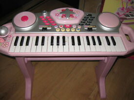 ELC FUNKY BEATS KEYBOARD - in pink - all the buttons work & all the piano keys work too! Fab toy!
