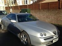 Alfa Romeo GTV, 2001, 2L. Project/fix up. Drives great, good condition but No MOT. Fun Car.