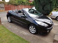 *reduced* Peugeot 207cc sport convertible automatic VERY LOW MILES. Immaculate