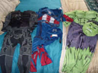 **DRESS UP BARGAIN** 3 fancy dress outfits and accessories - age 5-6 years