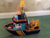 Fisher price fishing vessel/boat