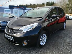 2015 Nissan Note, 1.2 Sat Nav, 12 MONTHS WARRANTY, Finance Available