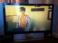 Sony 50inch LCD projection TV and stand