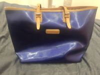 Longchamp patent leather large tote bag limited edition
