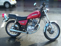 suzuki gn125 custom style motorcycle learner legal new mot (clocks changed mileage not correct)
