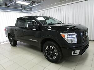 2018 Nissan Titan TEST DRIVE THIS BEAUTY TODAY!! PRO 4X V8 4x4 C