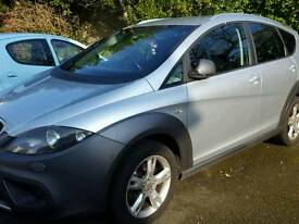 Seat altea xl freetrack 09 plate £2750