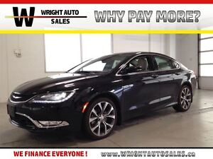 2015 Chrysler 200 C| LEATHER| NAVIGATION| SUNROOF| AWD| 18,885KM