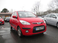 2009 hyundi i10 style 5 door hatchback low miles comes with 12 months mot