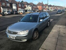 Seling Ford Mondeo Estate Ghia 2005, 168000 miles, Full Leather.