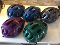 5 x cycling helmets