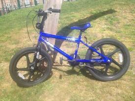 BMX bikes